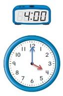Big-Ideas-Math-Book-1st-Grade-Answer-Key-Chapter-12-Tell-Lesson-12.4-Tell-Time-Using-Analog-Digital-Clocks-Explore-Grow-1