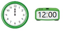 Big-Ideas-Math-Book-1st-Grade-Answer-Key-Chapter-12-Tell-Lesson-12.4-Tell-Time-Using-Analog-Digital-Clocks-Show-Grow-Question-3