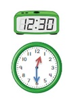 Big-Ideas-Math-Book-1st-Grade-Answer-Key-Chapter-12-Tell- Tell-Time-Using-Analog-Digital-Clocks-Practice-12.4-Question-4