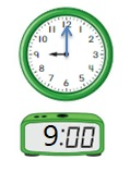 Big-Ideas-Math-Book-1st-Grade-Answer-Key-Chapter-12-Tell-Tell-Time-Using-Analog-and-Digital-Clocks-Homework-Practice-12.4-Question-13