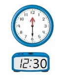 Big-Ideas-Math-Book-1st-Grade-Answer-Key-Chapter-12-Tell-Tell-Time-Using-Analog-and-Digital-Clocks-Homework-Practice-12.4-Question-14