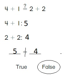Big-Ideas-Math-Book-1st-Grade-Answer-Key-Chapter-3-More-Addition-and-Subtraction- Situations-Lesson-3.6-True-or-False-Equations-Apply-and-Grow-Practice-question-3