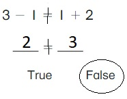 Big-Ideas-Math-Book-1st-Grade-Answer-Key-Chapter-3-More-Addition-and-Subtraction- Situations-Lesson-3.6-True-or-False-Equations-Apply-and-Grow-Practice-question-8