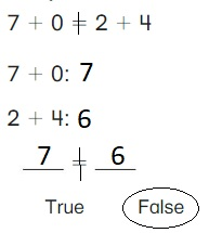 Big-Ideas-Math-Book-1st-Grade-Answer-Key-Chapter-3-More-Addition-and-Subtraction-Situations-True-or-False-Equations-Practice-3.6-question-1
