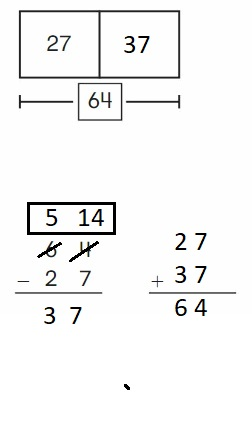 Big-Ideas-Math-Book-2nd-Grade-Answer-Key-Chapter-6-Fluently-Subtract-100- 6.5-Use –Addition-Check- Subtraction-Question-10