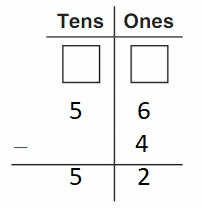 Big-Ideas-Math-Book-2nd-Grade-Answer-Key-Chapter-6-Fluently-Subtract-100-Use-Models- Subtract-Two-Digit Numbers-Homework -Practice 6.4-Question-6
