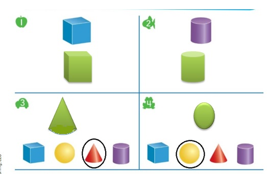 Big-Ideas-Math-Book-Grade-K-Answer-Key-Chapter-12-Identify-Three-Dimensional-Shapes-Build-Three-Dimensional-Shapes-Homework-Practice-12.5-Question-1-4