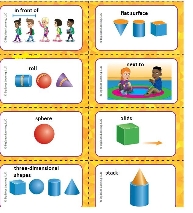 Big-Ideas-Math-Book-Grade-K-Answer-Key-Chapter-12-Identify-Three-Dimensional-Shapes-Identify-Three-Dimensional-Shapes-Vocabulary-2