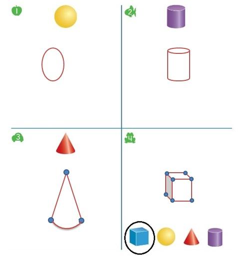 Big-Ideas-Math-Book-Grade-K-Answer-Key-Chapter-12-Identify-Three-Dimensional-Shapes-Lesson-12.5-Build-Three-Dimensional-Shapes-Apply-Grow-Question-1-4