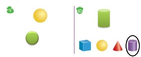 Big-Ideas-Math-Book-Grade-K-Answer-Key-Chapter-12-Identify-Three-Dimensional-Shapes-Lesson-12.5-Build-Three-Dimensional-Shapes-Question-9-10