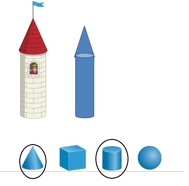 Big-Ideas-Math-Book-Grade-K-Answer-Key-Chapter-12-Identify-Three-Dimensional-Shapes-Lesson-12.5-Build-Three-Dimensional-Shapes- Think-Grow-Modeling Real-Life