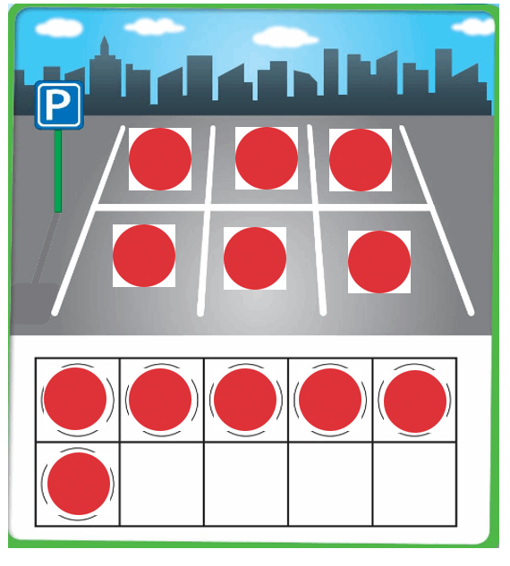 Big-Ideas-Math-Book-Grade-K-Answer-Key-Chapter 3-Count-and-Write-Numbers-6 to 10-Lesson 3.1 Model and Count 6