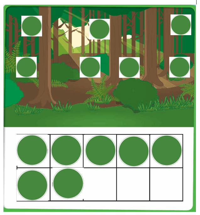 Big-Ideas-Math-Book-Grade-K-Answer-Key-Chapter 3-Count-and-Write-Numbers-6 to 10-Lesson 3.3 Model and Count 7