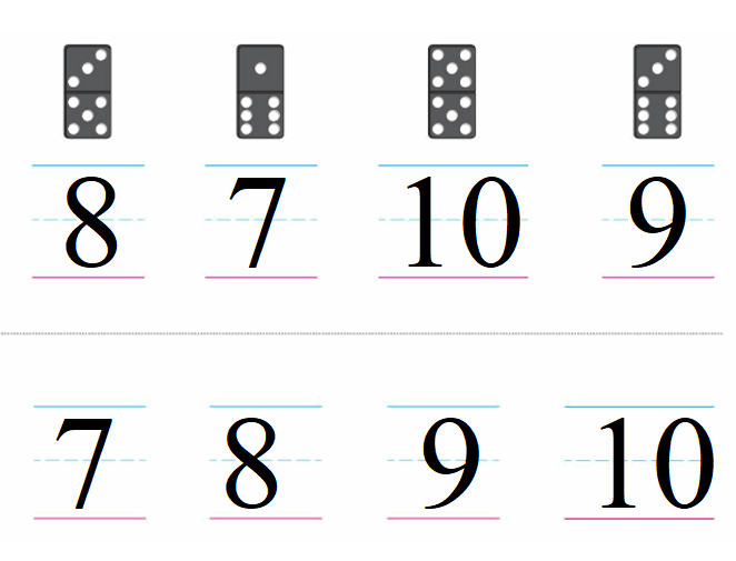 Big-Ideas-Math-Book-Grade-K-Answer-Key-Chapter 3-Count-and-Write-Numbers-6 to 10-Lesson-Lesson 3.10 Understand and Write 10-Count and Write Numbers 6 to 10 Chapter Practice 3.11
