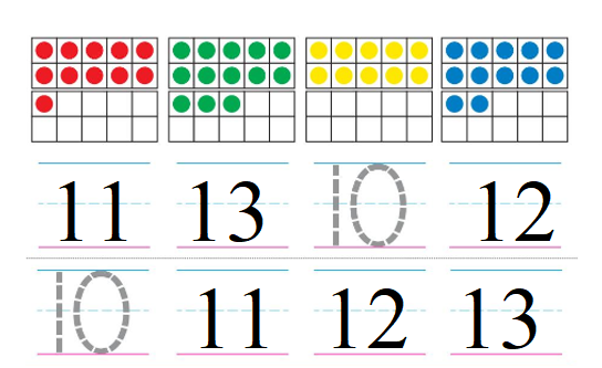 Big-Ideas-Math-Book-Grade-K-Answer-Key-Chapter-9-Count-and-Compare-Numbers-to-20-Lesson 9.5-Order Numbers to 20-Apply and Grow-Practice.1