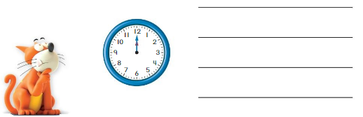 Big Ideas Math Solutions Grade 1 Chapter 12 Tell Time 89