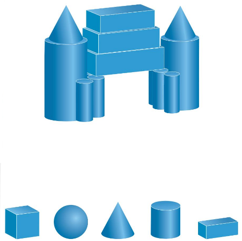 Big Ideas Math Solutions Grade 1 Chapter 13 Two-and Three-Dimensional Shapes 156