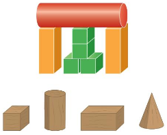 Big Ideas Math Solutions Grade 1 Chapter 13 Two-and Three-Dimensional Shapes 162