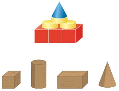Big Ideas Math Solutions Grade 1 Chapter 13 Two-and Three-Dimensional Shapes 163