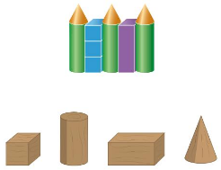 Big Ideas Math Solutions Grade 1 Chapter 13 Two-and Three-Dimensional Shapes 164