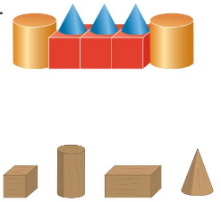 Big Ideas Math Solutions Grade 1 Chapter 13 Two-and Three-Dimensional Shapes 170