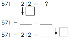 Big Ideas Math Solutions Grade 2 Chapter 10 Subtract Numbers within 1,000 10.4 3