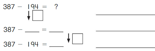 Big Ideas Math Solutions Grade 2 Chapter 10 Subtract Numbers within 1,000 10.4 9