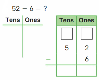 Big Ideas Math Solutions Grade 2 Chapter 6 Fluently Subtract within 100 30