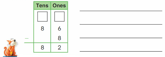 Big Ideas Math Solutions Grade 2 Chapter 6 Fluently Subtract within 100 32