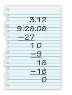 Big Ideas Math Solutions Grade 6 Chapter 2 Fractions and Decimals 308