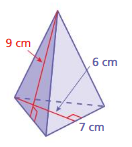 Big Ideas Math Solutions Grade 7 Chapter 10 Surface Area and Volume 10.4 15