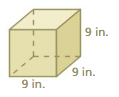 Big Ideas Math Solutions Grade 7 Chapter 10 Surface Area and Volume 10.4 19