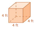 Big Ideas Math Solutions Grade 7 Chapter 10 Surface Area and Volume 10.4 4
