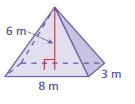 Big Ideas Math Solutions Grade 7 Chapter 10 Surface Area and Volume pt 8