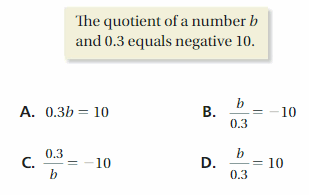 Big Ideas Math Solutions Grade 7 Chapter 4 Equations and Inequalities 178
