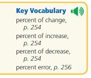 Big Ideas Math Solutions Grade 7 Chapter 6 Percents 6.4 2