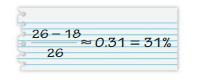 Big Ideas Math Solutions Grade 7 Chapter 6 Percents 6.4 4