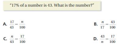 Big Ideas Math Solutions Grade 7 Chapter 6 Percents cp 4