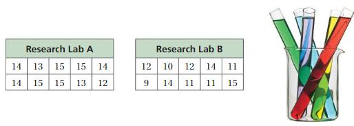 Big Ideas Math Solutions Grade 7 Chapter 8 Statistics 8.4 12