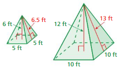 Big Ideas Math Solutions Grade 8 Chapter 10 Volume and Similar Solids 10.4 19