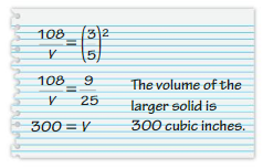 Big Ideas Math Solutions Grade 8 Chapter 10 Volume and Similar Solids 10.4 29