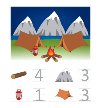 Big-Ideas-Math-Solutions-Grade-K-Chapter-1-Count and Write Numbers Numbers 0 to 5-1.4-7