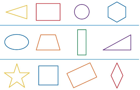 Big Ideas Math Solutions Grade K Chapter 11 Identify Two-Dimensional Shapes 11.3 2