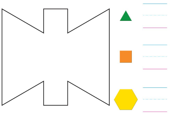 Big Ideas Math Solutions Grade K Chapter 11 Identify Two-Dimensional Shapes 11.6 10