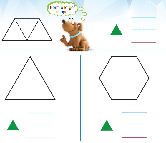 Big Ideas Math Solutions Grade K Chapter 11 Identify Two-Dimensional Shapes 11.6 2