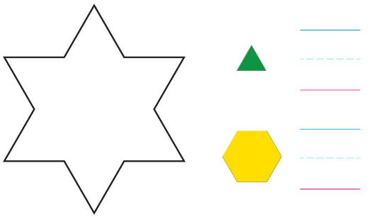 Big Ideas Math Solutions Grade K Chapter 11 Identify Two-Dimensional Shapes 11.6 4