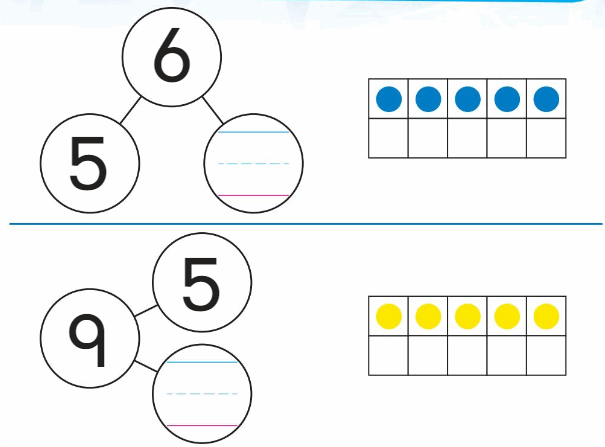 Big Ideas Math Solutions Grade K Chapter 5 Compose and Decompose Numbers to 10 84