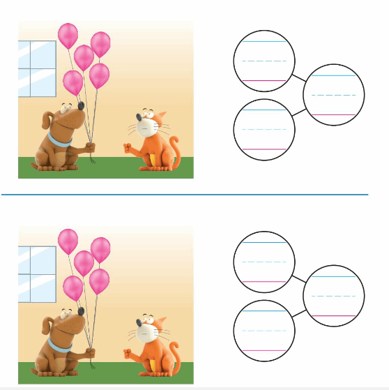 Big Ideas Math Solutions Grade K Chapter 5 Compose and Decompose Numbers to 10 88