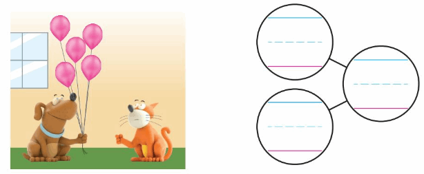 Big Ideas Math Solutions Grade K Chapter 5 Compose and Decompose Numbers to 10 92