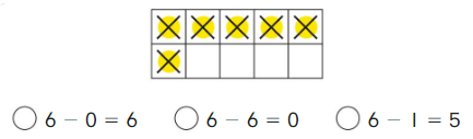 Big Ideas Math Solutions Grade K Chapter 7 Subtract Numbers within 10 cp 6